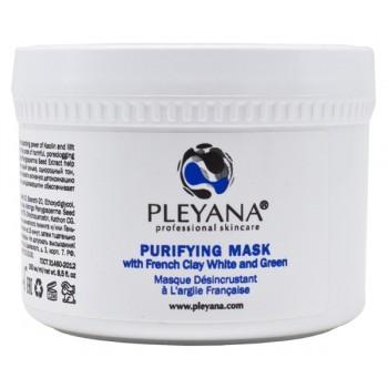 Маска Purifying Mask Очищающая с Франузскими Глинами (Белой и Зеленой), 250 мл