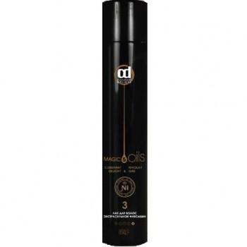 Лак 5 Magic Oils для Волос Экстрасильной Фиксации №3 без Запаха Черный, 400 мл