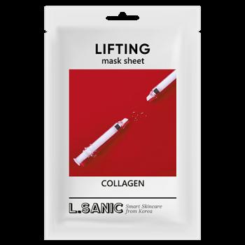 Маска Collagen Lifting Mask Sheet Коллагеновая Тканевая с Эффектом Лифтинга, 25 мл