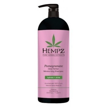 Шампунь Daily Herbal Moisturizing Pomegranate Shampoo Растительный Увлажняющий и Разглаживающий Гранат, 1000 мл