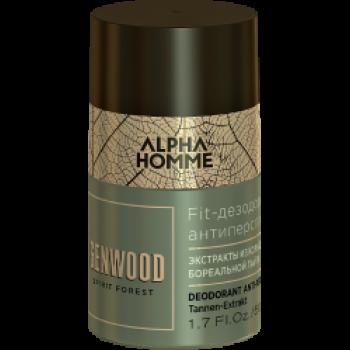 Дезодорант Fit Otium Forest Genwood & Alpha Homme Антиперспирант Genwood, 50 мл