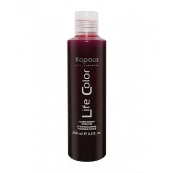Шампунь Life Color Оттеночный для Волос Гранатовый Красный, 200 мл