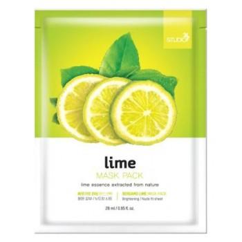 Маска Lime Mask Pack Тканевая для Лица с Экстрактом Лайма, 28 млМаска для Лица с Экстрактом Лайма Lime Mask Pack, 28 мл