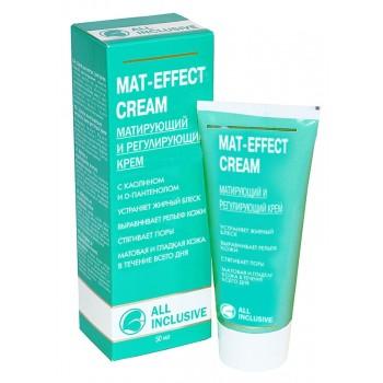Крем Mat-Effect Сream Матирующий и Регулирующий, 50 мл