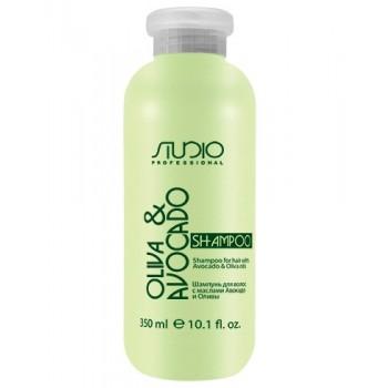 Шампунь Olive and Avocado Увлажняющий для Волос с Маслами Авокадо и Оливы, 350 мл