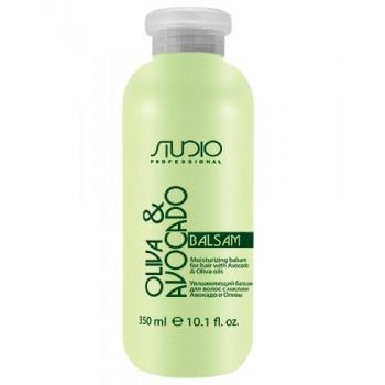 Бальзам Olive and Avocado Увлажняющий для Волос с Маслами Авокадо и Оливы, 350 мл