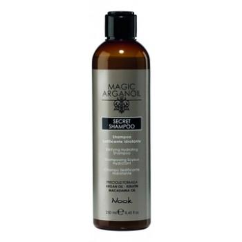 Шампунь Secret Shampoo Секретный Разглаживающий и Увлажняющий Магия Арганы, 250 мл