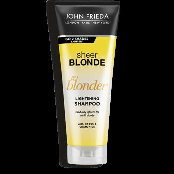 Шампунь Осветляющий для Натуральных, Мелированных и Окрашенных Волос Sheer Blonde Go Blonder, 250 мл