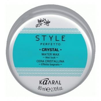Воск для Волос с Блеском Style Perfetto Crystal Water Wax, 80 мл