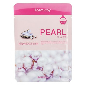 Тканевая Маска для Лица с Экстрактом Жемчуга Visible Difference Mask Sheet Pearl, 23 мл