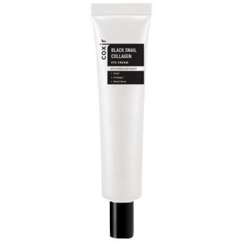 Крем Black Snail Collagen Eye Cream для Области вокруг Глаз против Морщин с Коллагеном и Муцином Черной Улитки, 30 мл