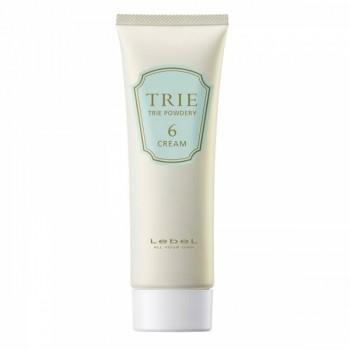 Крем Trie Powdery Cream 6 Матовый для Укладки Волос Средней Фиксации, 80г