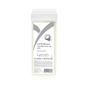 Lycon Воск LYCOtec White Wax Сartridge Белый в Картридже с Ароматом Кокоса, 100 мл