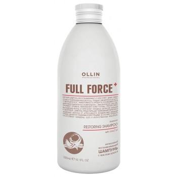 Шампунь Full Force Restoring Shampoo Интенсивный Восстанавливающий с Маслом Кокоса, 300 мл