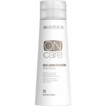 Selective Professional Золотистый шампунь для натуральных или окрашенных волос теплых светлых тонов, 250 мл