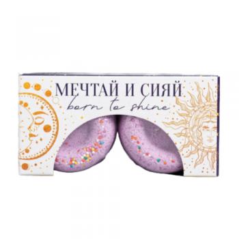 Пончики Бурлящие Мечтай и Сияй с Ванильным Ароматом , 2 шт*75г