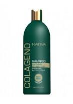 Коллагеновый Восстанавливающий Шампунь для Всех Типов Волос Collageno, 500 мл
