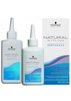 Комплект Natural Glamour для Химической Завивки Труднозавиваемых Волос №0, 80+100 мл