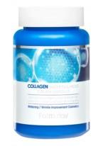 Крем Collagen Water Full Moist Cream Ampoule Ампульный для Лица с Коллагеном, 250 мл