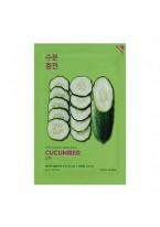 Маска Pure Essence Mask Sheet Cucumber Успокаивающая Тканевая Огурец, 20 мл