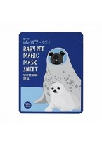 Маска-Мордочка Baby Pet Magic Mask Sheet Whitening Seal Тканевая Отбеливающая Тюлень, 22 мл