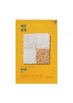 Маска Pure Essence Mask Sheet Rice Тканевая против Пигментации Пьюр Эссенс Рис, 20 мл