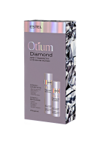 Набор Otium Diamond для Гладкости и Блеска Волос, 250+200 мл