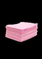 Полотенце 35х70 см. пл. 50 г/м2 Розовое, Вафельное, Поштучного Сложения, 50 шт