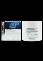 Отшелушивающие Очищающие Подушечки с Коллагеном Collagen Water Full Moist Toning Peeling Pad, 150 мл