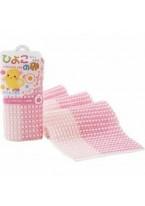 Мочалка-Полотенце Pokopoko Egg для Детей, Розовая, 1шт