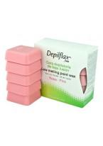 Воск Low Melting Point Hair Removal Wax Горячий в Брикетах Розовый Extra Плотный, 500г