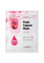 Маска с Капсулой-Активатором с Лепестками Дамасской Розы Энергия и Увлажнение Fresh Capsule Mask Rose Petals, 1 шт*3 мл+25 мл