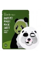 Тканевая Маска-Мордочка против Темных Кругов под Глазами Панда Baby Pet Magic Mask Sheet Vitality Panda, 22 мл