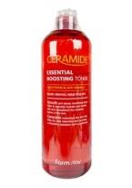 Тонер-Бустер Ceramide Essential Boosting Toner Укрепляющий с Керамидами, 500 мл
