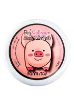 Маска-Желе Collagen Aqua Piggy Jelly Pack Увлажняющая со Свиным Коллагеном, 100 мл