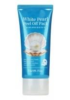 Маска-Пленка White Pearl Peel Off Pack Очищающая с Экстрактом Жемчуга, 100г