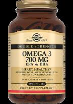 Омега 3 Omega-3 Двойная 700 мг ЭПК и ДГК Капсулы №60, 1 уп