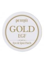 Патчи для Области вокруг Глаз и для Точечного Использования с Золотом и EGF Gold & EGF Eye & Spot Patch, 60 шт + 30 шт,