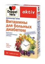 Витамины для Больных Диабетом, таб. №30