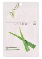 Тканевая Маска для Лица с Экстрактом Алое Aloe Daily Care Sheet Mask, 22г