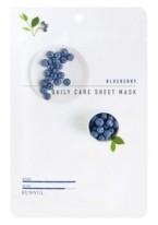 Маска Blueberry Daily Care Sheet Mask Тканевая для Лица с Экстрактом Черники, 22г