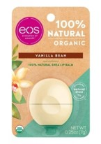 Бальзам Eos Organic Vanilla Bean Lip Balm для Губ на Картонной Подложке, 7г