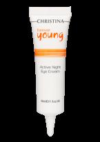 Крем Forever Young Active Night Eye Cream Активный Ночной  для Кожи Вокруг Глаз, 30 мл