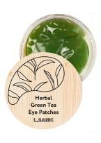 Патчи Herbal Green Tea Hydrogel Eye Patches Гидрогелевые с Экстрактом Зеленого Чая, 60 шт