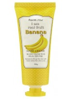 Крем для Рук с Экстрактом Банана I Am Real Fruit Banana Hand Cream, 100г