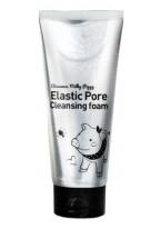 Пенка Milky Piggy Elastic Pore Cleansing Foam с Древесным Углем для Очищения и Сужения Пор, 120 мл