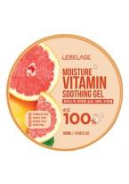 Гель Moisture Vitamin Purity 100% Soothing Gel Увлажняющий Успокаивающий с Витаминами, 300 мл