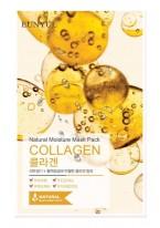 Маска Тканевая с Коллагеном Natural Moisture Mask Pack Collagen, 22 мл