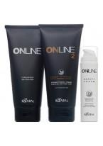 Крем Online Hair Straightening System 2 Выпрямляющий для Окрашенных и Слабых Волос, 445 мл