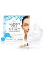 Маска Oxygen Cell Therapy для Лица и Шеи, 5 шприцов+5 масок